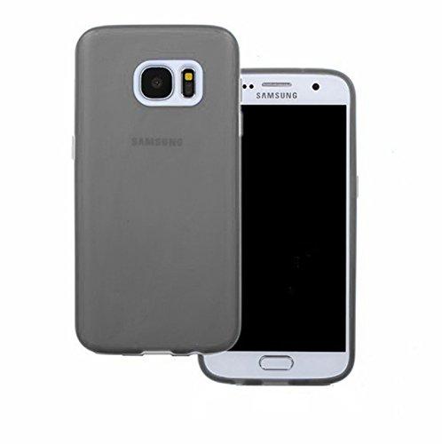 TBOC® Schwarz Gel TPU Hülle für Samsung Galaxy S7 SM-G930F G930F Ultradünn Flexibel Silikonhülle