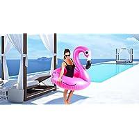 Flamenco Hinchable Flotador - ¡Gran Accesorio Perfecto Y Divertido Para La Piscina, La Playa