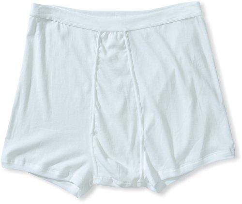 HERMKO 3940 4er Pack Herren Pagen mit Eingriff Schlüpfer und angeschnittenem Bein hoher Bund/Leib, Farbe:weiß, Größe:D 8 = EU XXL