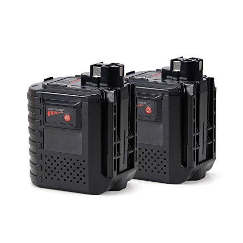 POWERGIANT 2pcs 24V 3.0Ah Ni-MH Batería Bosch GBH