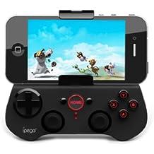 "iPega - Mando universal inalámbrico Bluetooth 3.0 - Gamepad Joypad para Apple iPhone 5, 4S, 4, iPad 4, 3, 2, nuevo iPod mini, HTC One, Samsung Galaxy S3, 2, Samsung Note 2, N7100, N8000, Google Nexus 7 "" y 10"""
