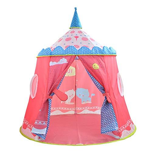 PRNGZGG Spielzelt Zelt Jungs Kleinkinder Spielhaus Für Innen Und Außen, Tragbares Pop-Up Children\'s Birthday Gift Tent Children\'s Play House