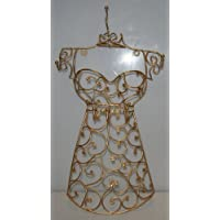 Four Seasons- Beautiful Decorative Gold Wall Mounted Jewellery Mannequin