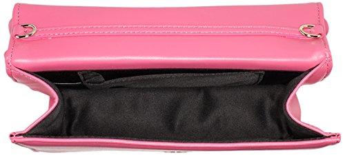 Love Moschino JC4092, Borse a Tracolla Donna, 6x15x22 cm (B x H x T) Rosa (Pink)