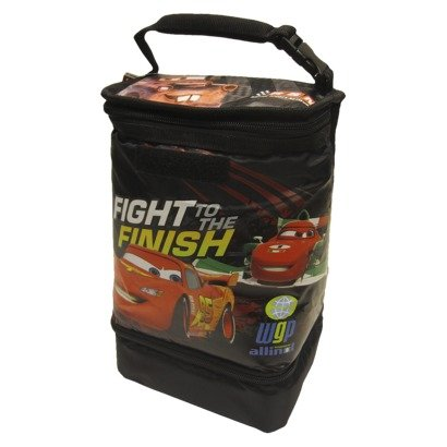 Disney Cars Dual Compartment Insulated Lunch Bag