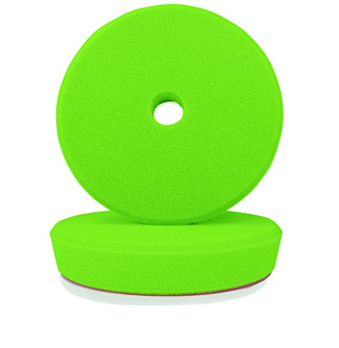 ALCLEAR Kid de 2, pad de polissage mi-dur pour les machines RUPES, pour un 5″ disc system, Ø 145/128 x 25 mm, vert