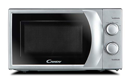 Candy CMW2070S-UK 20L 700W Mechanical Solo Microwave- Silver