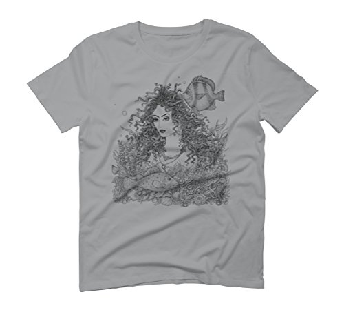 Marine Beauty Men's Graphic T-Shirt - Design By Humans Opal