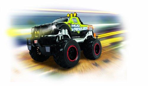 Dickie Toys 201119455 - RC Ford F150 Mud Wrestler, funkferngesteuerter Monstertruck inklusive Batterien, 30 cm - 4