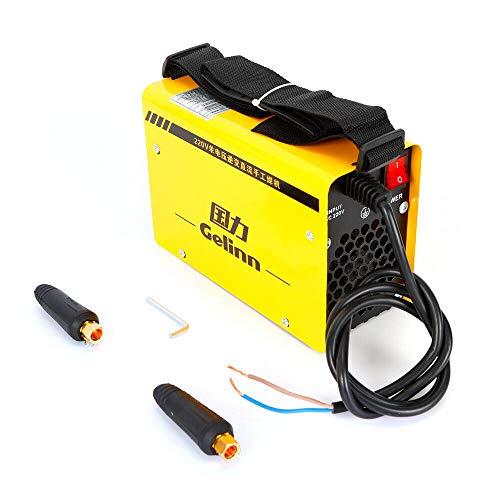 BTdahong 220V Professionell Schweißmaschine Inverter Schweißgerät IGBT ZX7-200 Einzelne Röhre 200A Tragbare Eelektrische Welding Schweißen Wechselrichter Welder Kit Effizient Leicht