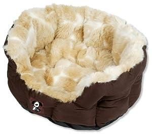 Yap Peluchi Giraffe Oval Pet Bed