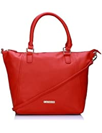 Caprese  Women Satchel (Red)(SLMIRLGRRED)