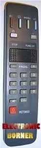 Télécommande de remplacement MARQUE BORNER approprié pour Thomson TV Saba Nordmende Telefunken RCT3003 TC3003 FB1123 IMC605 ....