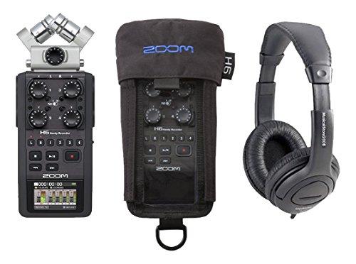 Zoom H6Recorder Pack mehrspurigen/Handy/Kopfhörer