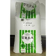 Urea - Abono mineral simple a base de nitrógeno - Paquete de 25 kg -