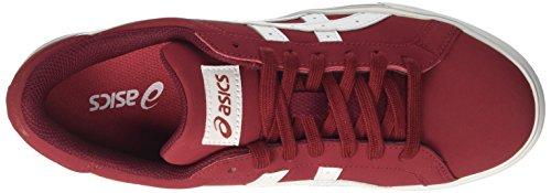 Asics Classic Tempo, Scarpe da Tennis Uomo Rosso (Ot Redwhite)