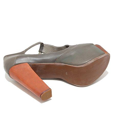 3351I sandali donna JEFFREY CAMPBELL foxy wood scarpe shoes women Grigio scuro