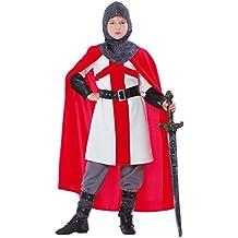 Disfraz de caballero cruzado (4-6 años)