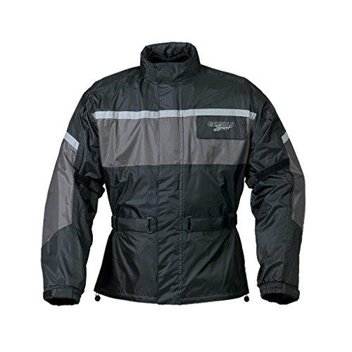 Preisvergleich Produktbild Regenjacke Leeds schwarz/grau XXXXL
