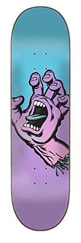 Santa Cruz Skate Pastell Screaming Hand 20,6x 80,5cm Skateboard Deck