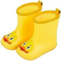 happy event Infant Kids Children Baby Dibujos Animados Duck Rubber Waterproof cálido Boots Rain Shoes | Niños cálido Caricatura Pato Lluvia Zapatos Botas