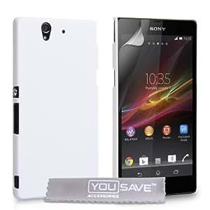 Sony Xperia Z Harte Taschen Blanc dur