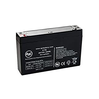 Agilent Technologies M78333A Monitor 6V 7Ah Medical Battery - This is an AJC Brand Replacement