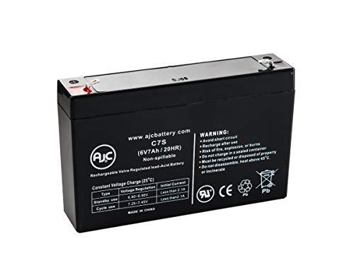 Batterie Panasonic LC-R067R2P 6V 7Ah Acide scellé de Plomb - Ce Produit est Un Article de Remplacement de la Marque AJC®