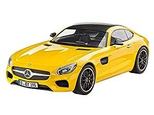 Revell Modellbausatz Auto 1:24 - Mercedes-Benz AMG GT im Maßstab 1:24, Level 3, originalgetreue Nachbildung mit vielen Details, 07028