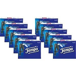 Tempo Taschentuch Tempo Standard, Riesenpackung (10×30 Packungen á 10 Tücher)