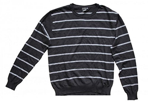 Steve Smith Skateboard Pullover Cambridge Black/Grey Sweater, Grösse:XL