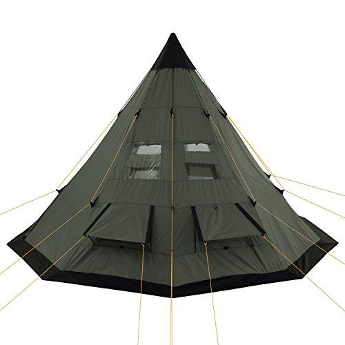 Zoom IMG-3 campfeuer tenda tipi teepee 365