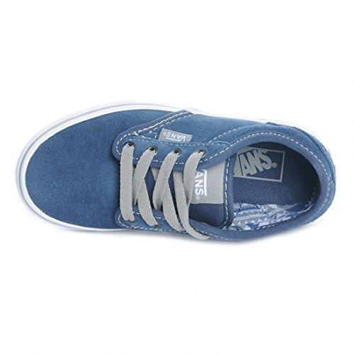 Vans ATWOOD Unisex-Kinder Sneakers Blau