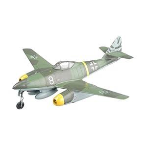 "Easy Model 36366 Me262 A-1A White 8"" - Caza a Escala pilotado por Novotny Achmer Importado de Alemania"