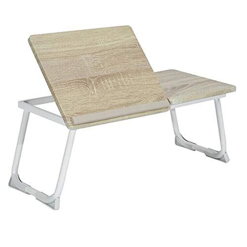 """Lapdesks Tragbarer Faltbarer Tisch Bettklappbarer Laptop-Schreibtisch mit Anti-Rutsch-Bar-Anzügen für Ipad 14-17 """"Notebook (Farbe : A)"""