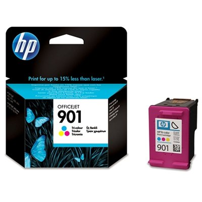 HP Cartucho de Tinta 901 Tri-Colore oofficejet con HP Officejet Ink