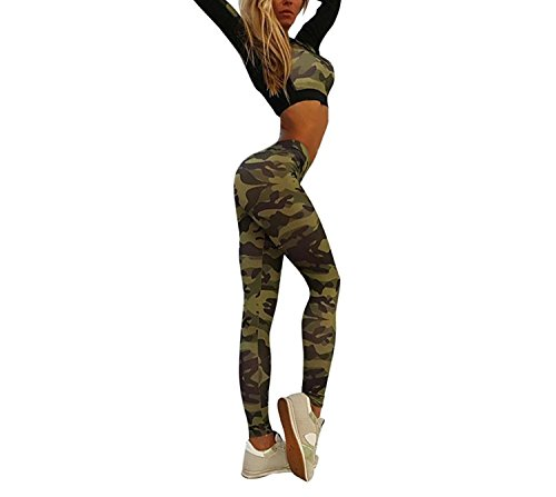 Happierlulu - Combinaison - Femme Armee-Grün