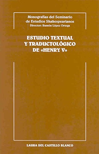 Estudio textual y traductológico deTimon of Athens (Monografías del seminario de estudios Shakespearianos) por José Luis Oncins Martínez
