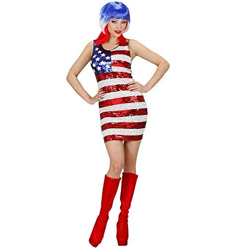 Widmann - Erwachsenenkleid Miss USA -