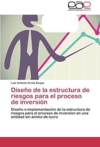 Diseno de La Estructura de Riesgos Para El Proceso de Inversion por Arcila Duque Luis Antonio