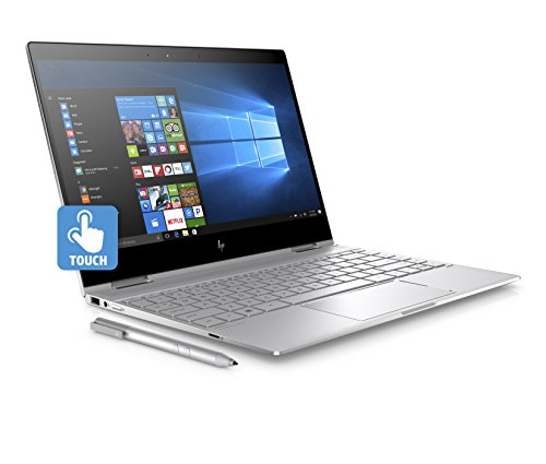 "HP Spectre X360 13-AE019NL Notebook Convertibile, Display da 13.3"", Intel i5-8250U, 1.6 GHz, SSD da 256 GB, 8 GB di RAM, UHD 620, Layout Italiano, Argento Naturale"