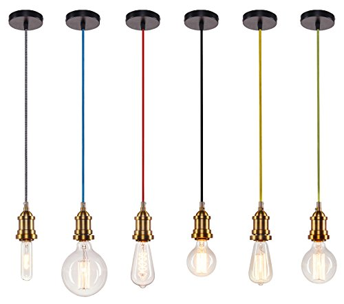 vintage-brass-multiple-colour-retro-ceiling-pendant-light-black