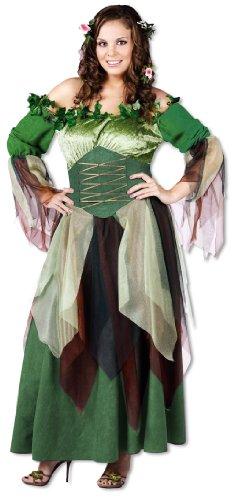 Waldelfe Kostüm Plus Size (Size Plus Kostüme Horror)