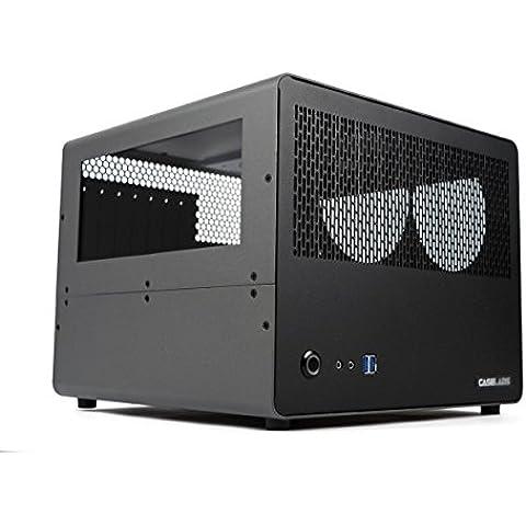 caselabs Bullet BH7Case ATX con Dual Windows Gunmetal - Gunmetal Scheda