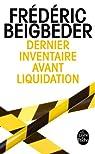 Dernier inventaire avant liquidation par Beigbeder