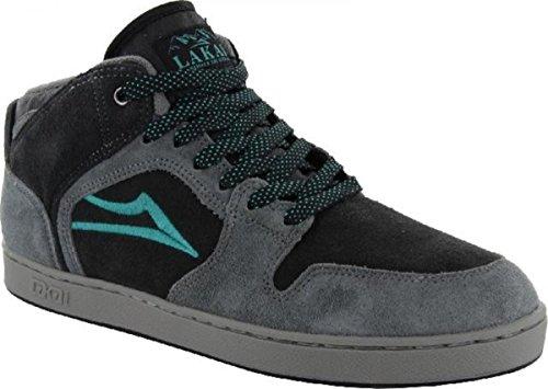 Lakai Skateboard Schuhe Telford XLK Grey/Black Aw Suede - Sneakers Sneaker, Schuhgrösse:40, Farbe:Grey/Black Aw Suede (Schuhe Lakai Skateboard)