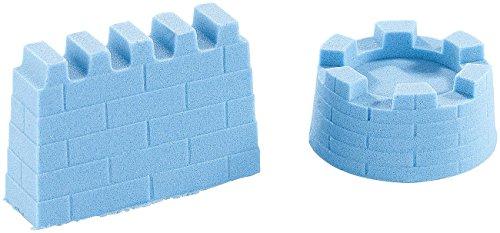 Playtastic NX-7270 Kinder Kinetischer, formbar und formstabil, fein, blau, 500 g (Indoor Sand)