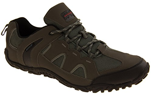Gola Hommes Textile Faux marche en cuir Chaussures Trekking Gris/noir