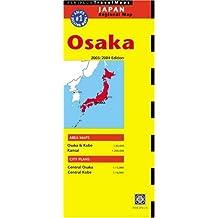 Osaka: Japan Regional (Periplus Travel Maps)