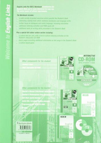 English Links For ESO 2 - Workbook (+CD)